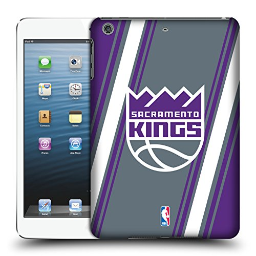 Official NBA Stripes Sacramento Kings Hard Back Case for Apple iPad mini 1 / 2 / 3