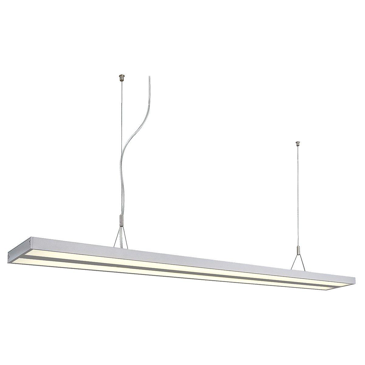 SLV KUNO Leuchte Indoor-Lampe Aluminium Innen-Lampe Silber Lampe innen, Innen-Lampe Aluminium 6b1f1b