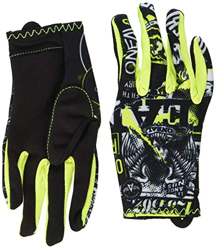 Youth Dirtpaw Gloves (O'Neal Unisex-Adult Matrix Glove Attack (Black/Hi-Viz, Youth Medium (5)))