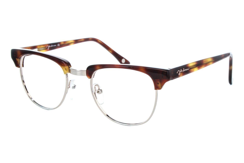 John Lennon JL 13 Mens Eyeglass Frames - Demi/Amber