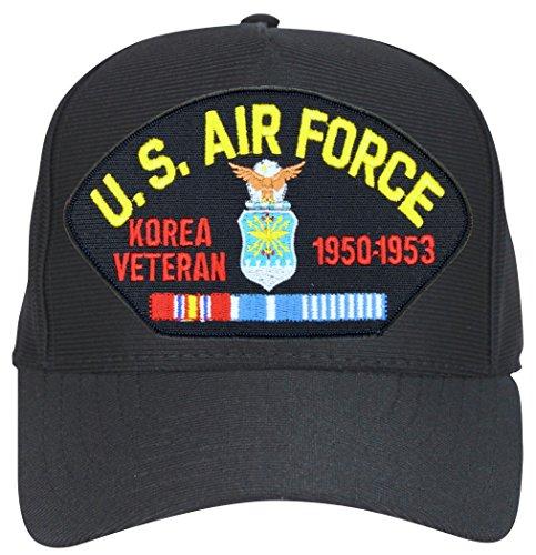 - MilitaryBest Air Force Korea Veteran 1950-1953 Emblematic Ball Cap Hat