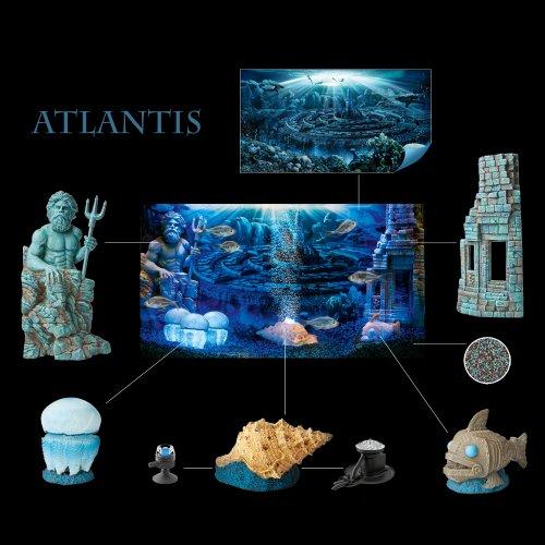 Decoration Aquarium Poseidon