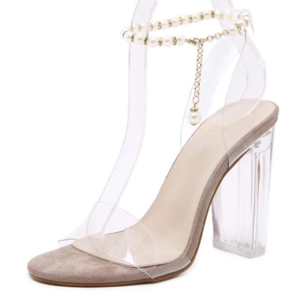 Frauen High Heels Transparent High Fashion Peep Toe Pumps Handgefertigt Für Hochzeit Kleid Stiletto Slip On Schuhe