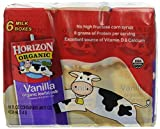 Horizon Organic, 1% Low Fat Milk, Vanilla, 6pk, 8oz