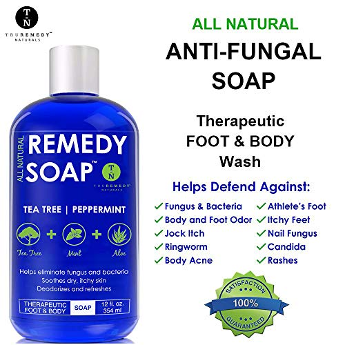 Natural body soap
