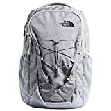 The North Face Jester Laptop Backpack- 15' (Mid Grey Dark Heather/TNF Black)