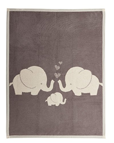 Arus Baby Turkish Cotton Blend Blanket Elephant 30x40 inches