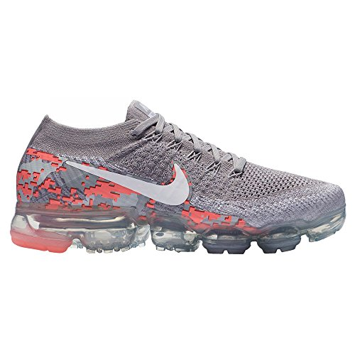 Flyknit EU Vapormax Donna White 001 40 Scarpe NIKE Running Grey C W Air Atmosphere BOctU