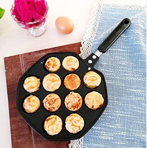 LCZ Octopus Petite Balle Machine à Griller Casserole, Moule Grill Poulpe aux œufs de caille, la Machine poêle à Griller