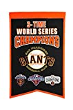MLB San Francisco Giants 3 Time WS Champions Banner, One Size