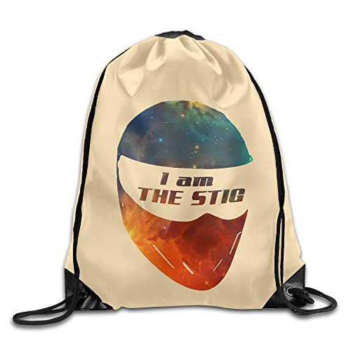 Price comparison product image AK79 Superb I Am The Stig Mask Backpack White