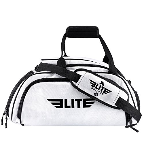 1f56ff85b516 Elite Sports Warrior Boxing MMA BJJ Gear Gym Duffel Backpack Bag with Shoe  Compartment