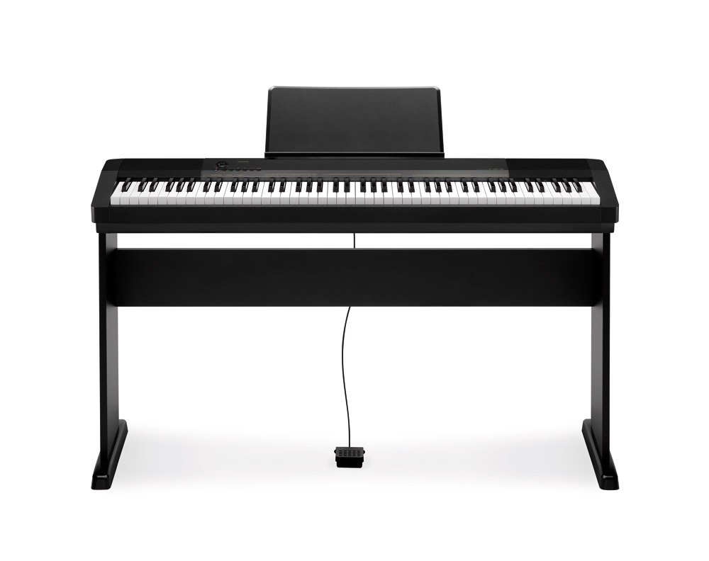 CASIO CDP-130BK + soporte para piano Digital portátil: Amazon.es: Instrumentos musicales