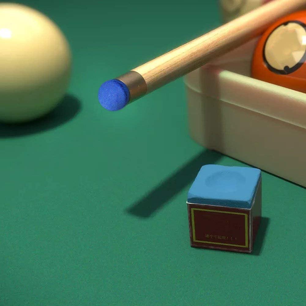 Computer ONWON 20/Pezzi Cue 13/mm Punta della Stecca da Biliardo Pool Stick Cue Colla-su Snooker Blu