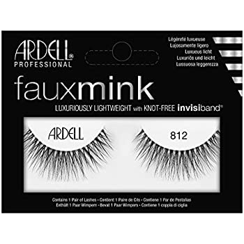52fc4c87dbd Amazon.com : ARDELL Faux Mink - 812 Black : Beauty