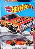 Hot Wheels, 2016 HW Flames, '69 Dodge Coronet Superbee [Orange] #94/250