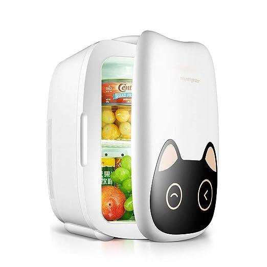 Refrigerador pequeño coche Mini refrigerador y calentador ...