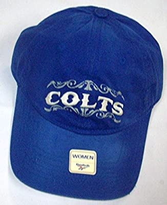 NFL Women's Lifestyle Slouch Adjustable Hat - EQ78W, Indianapolis Colts, One Size Fits All