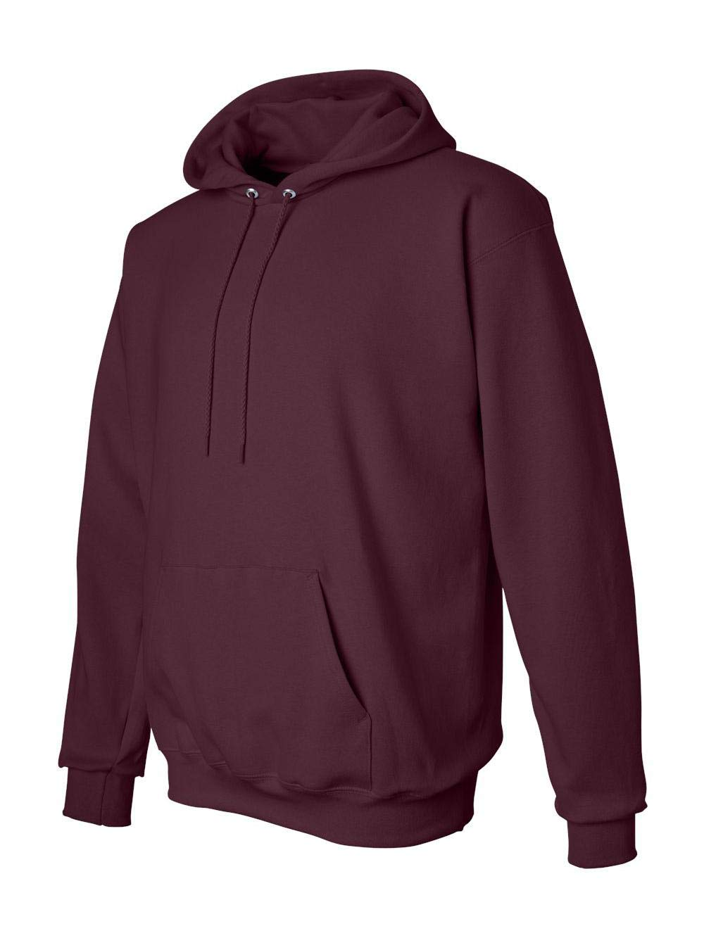 Hanes Adult Ultimate CottonHooded Pullover - Maroon - S by Hanes
