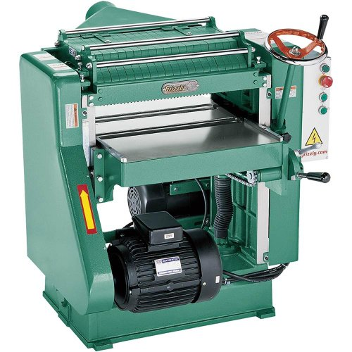 Grizzly G5850Z Professional Planer with 5 HP Single-Phase Motor, 20-Inch
