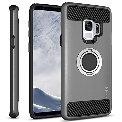 Galaxy S9 Ring Case, CoverON RingCase Series...