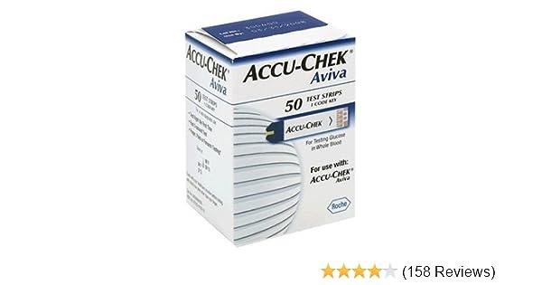ACCU-CHEK Aviva Plus Test Strips, 50 Count