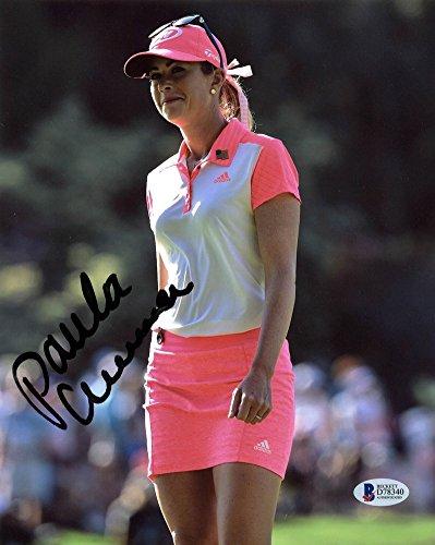 Paula Creamer LPGA Golf Certified Signed Autographed 8x10 Photo Signed Autographed Bas #D78340 - Certified Certified (8x10 Certified Photo Autograph Golf)