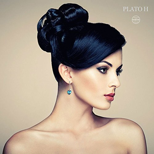 ❤Gift Packing❤ Crystal from Swarovski, Heart Earrings Tassels Pearls Eardrop Dangle Style Earrings, Birthday Birthstone Gifts for Women, Graduation Gifts by PLATO H (Image #4)