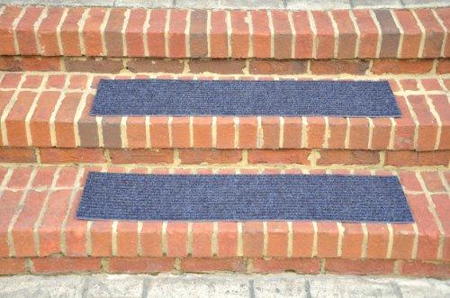 Dean Indoor Outdoor Non Skid Stair Treads Blue 36 X 9 3