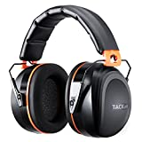 Tacklife Noise Reduction Safety Ear Muffs, SNR 34dB Professional Hearing Protection, Portable Shooting Hunting Folding-Padded Head Band Ear Defenders, HNRE1