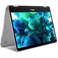 """Asus VivoBook Flip 14 14"""" FHD Intel Core m3 Convertible Laptop"""