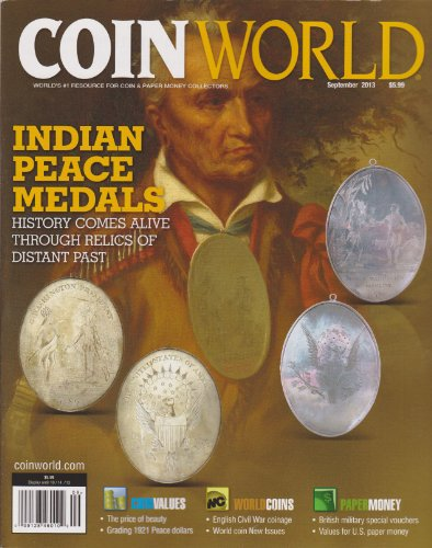 Coin World Magazine September 2013