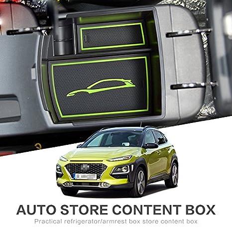 Hyundai Kona 2018 2019 bandeja consola central