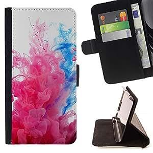 Momo Phone Case / Flip Funda de Cuero Case Cover - Explosiones de color;;;;;;;; - HTC One M8