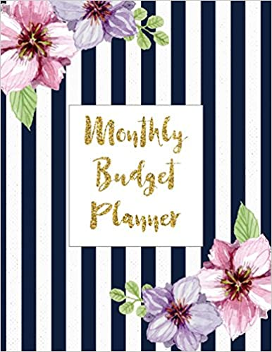 amazon monthly budget planner bill organizer notebook budget