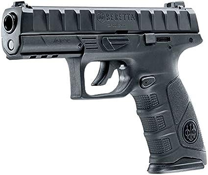 BERETTA Pistola semiautomatica perdigón APX Negra. Calibre 4,5mm. 3,3 Julios. Co2.