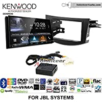 Volunteer Audio Kenwood DDX9904S Double Din Radio Install Kit with Apple CarPlay Android Auto Bluetooth Fits 2006-2012 Toyota RAV4 with Amplified System