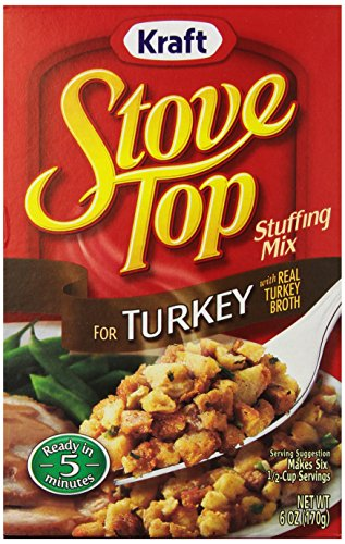 Stove Top Stuffing Mix, for Turkey, 6 oz