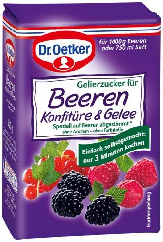 Dr. Oetker Gelierzucker fr Beerenkonfitre, 7er Pack (7 x 500 g Packung)