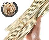 Newbested 150 Pcs Reed Diffuser Sticks,Wood Rattan Reed Sticks,diffuser sticks for essential oils