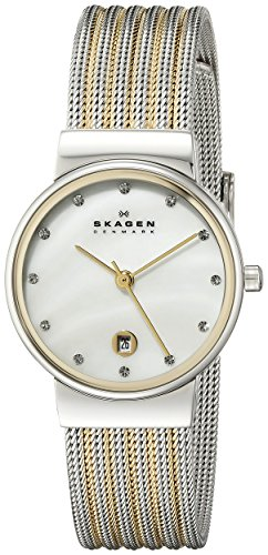 skagen-womens-355ssgs-ancher-two-tone-silver-and-gold-mesh-watch