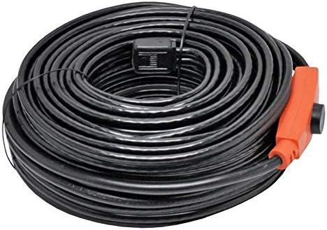 calefactor de tuber/ías 14m Cable t/érmico para descongelado de tuber/ías