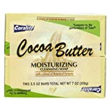 2 Pk 3.5 Oz Coca Butter Soap 24 pcs sku# 893085MA