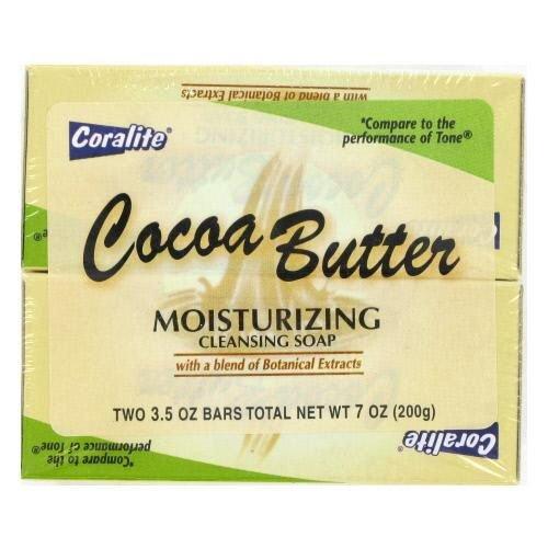 2 Pk 3.5 Oz Coca Butter Soap 24 pcs sku# 893085MA