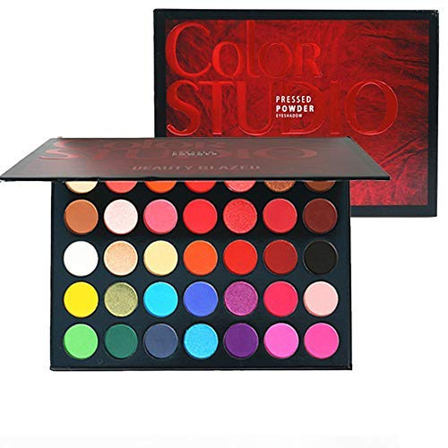 Beauty Glazed New 35 Color Makeup Eyeshadow Palette Shimmer Matte High Pigmented Long Lasting Make up Eye Shadow Pallete Cosmetics
