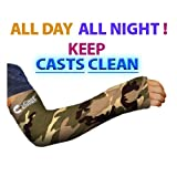Long Arm Cast Cover - Green Camo (Adult Large/XL)