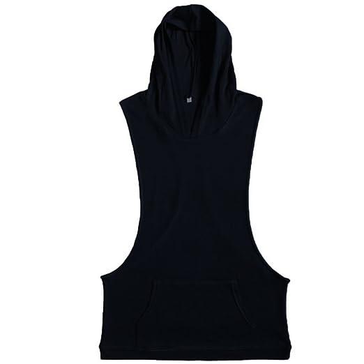 Robo Homme Débardeur Uni T-Shirt sans Manches Shirt Lâche Maillot de Corps  Sport Blouse Fitness Jogging  Amazon.fr  Sports et Loisirs 78a540e6e0b6