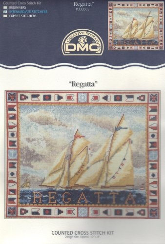 Regatta - Counted Cross Stitch Kit From England ()