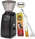 Baratza Encore 485 Conical Burr Coffee Grinder, Brushtech Coffee Grinder Dusting Brush & Zonoz One-Tablespoon Plastic Clever Scoop (Bundle)