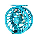 M MAXIMUMCATCH Maxcatch Sparta Fly Reel Fully Sealed Lightweight Expert Fly Fishing Reel(3/5wt, 5/7wt, 7/9wt, 8/10wt) (Ice Blue, 7/9wt) For Sale